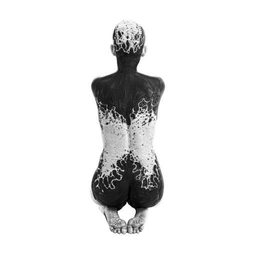 Wyższa Szkoła Artystyczna, malarstwo w scenografii, kostium i rekwizyt sceniczny, biały, czarny, bodypainting