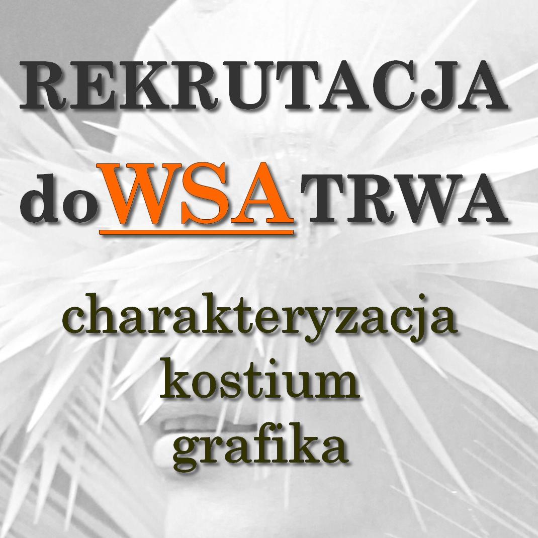 Rekrutacja 2016/2017 do Wyższej Szkoły Artystycznej w Warszawie