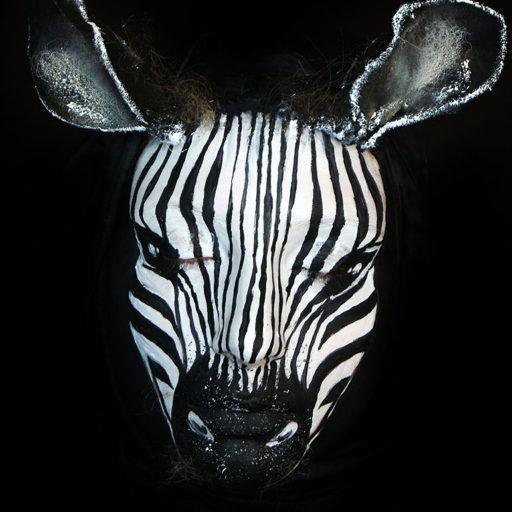 wyzszaszkolaartystyczna, zwierze, bodypainting, malarstwo