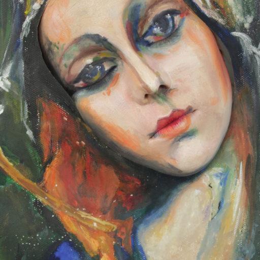 Wyższa Szkoła Artystyczna, malarstwo w scenografii, żywe obrazy, bodypainting, obraz