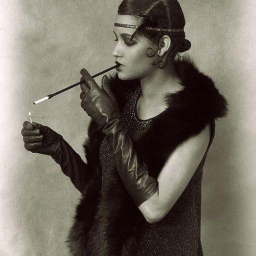 wyzsza szkola artystyczna, lata 20-te, makijaz, wizaz, charakteryzacja, epoka, kostium