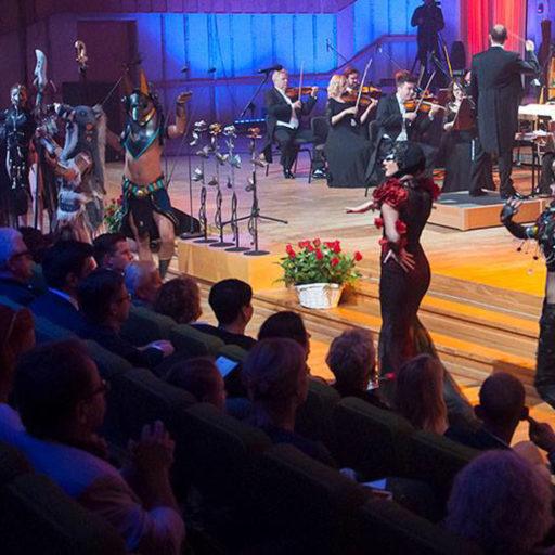 Wyższa Szkoła Artystyczna, kostium i rekwizyt sceniczny, bitwa tenorów na róże, róża,