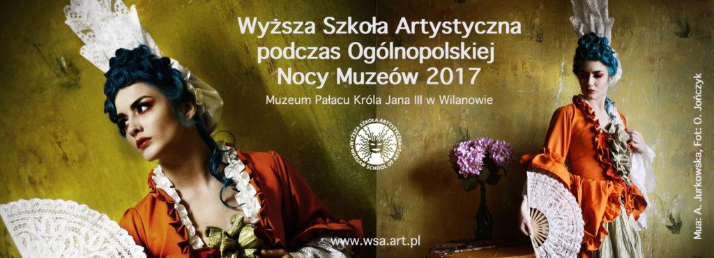 noc muzeów, wyższa szkoła artystyczna, pokaz, barok, epoka, kostium, muzeum króla jana III w wilanowie, wilanów, moda, charakteryzacja
