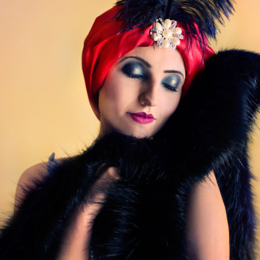 licencjat, wyższa szkoła artystyczna, kostium, charakteryzacja, makijaż, lata 20, maekeup,