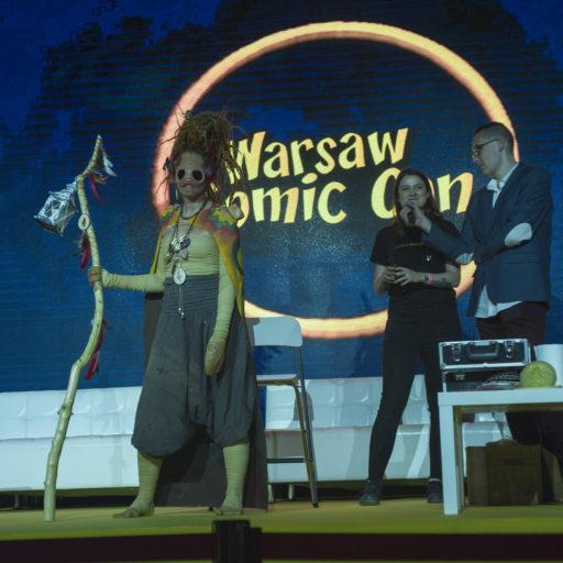 comiccon, targi, fantastyka, gry, anime, charakteryzacja, kostium, cosplay, wyzsza szkola artystyczna