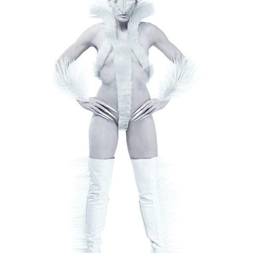 licencjat, wyższa szkoła artystyczna, kostium, charakteryzacja, futuryzm,