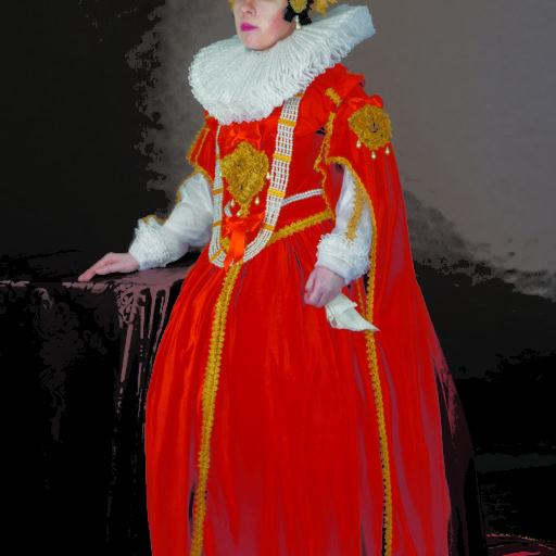 licencjat, dyplom, wyższa szkoła artystyczna, kostium, charakteryzacja, malarstwo, portret, królowa