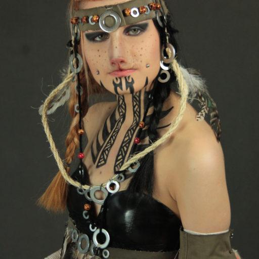 wyższa szkoła artystyczna, kostium, charakteryzacja, wklejki, fx, bodypainting, efekty specjalne