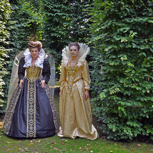 wyzsza szkola artystyczna, kostium, epoka, makijaz, makeup, kostium, zamek, ogrody