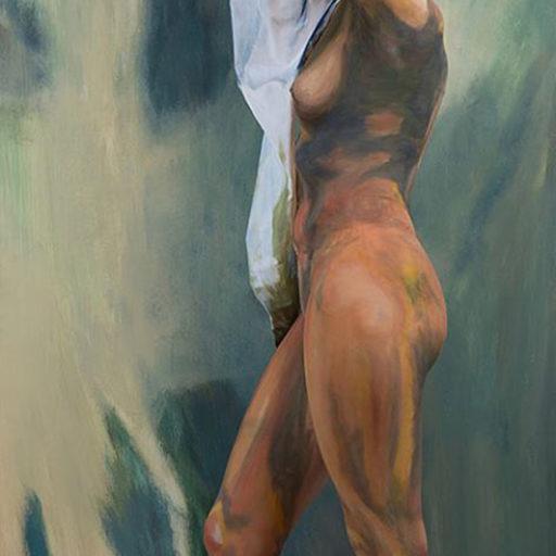 wyzszaszkolaartystyczna, malarstwo, obraz, charakteryzacja, bodypainting