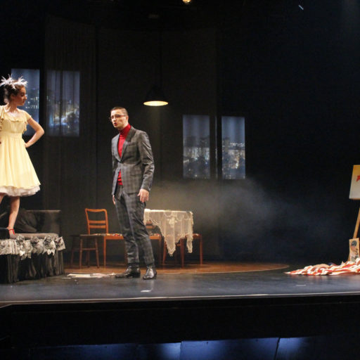 Wyzsza szkola artystyczna, charakteryzacja, teatr, spektakl, kostium, postarzanie, tango, opera