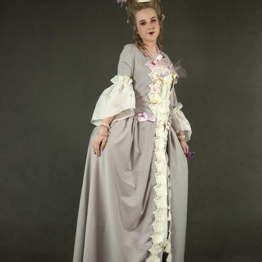 wyzszaszkolaartystyczna, kostium, charakteryzacja, makijaz, epoka, barok, secesja, renesans, stylowe