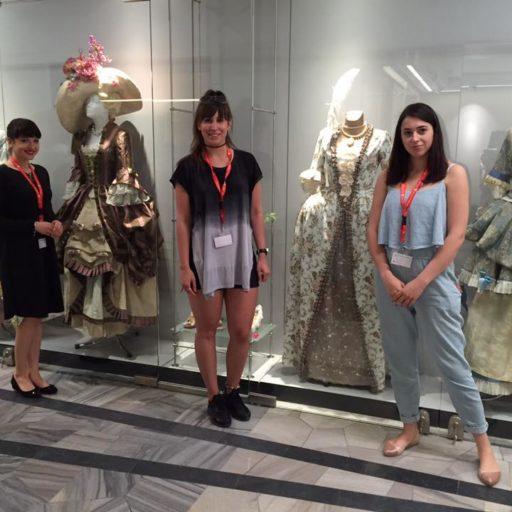 wystawa, wyzszaszkolaartystyczna, kostium, rokoko, nocmuzeow, charakteryzacja, kostium