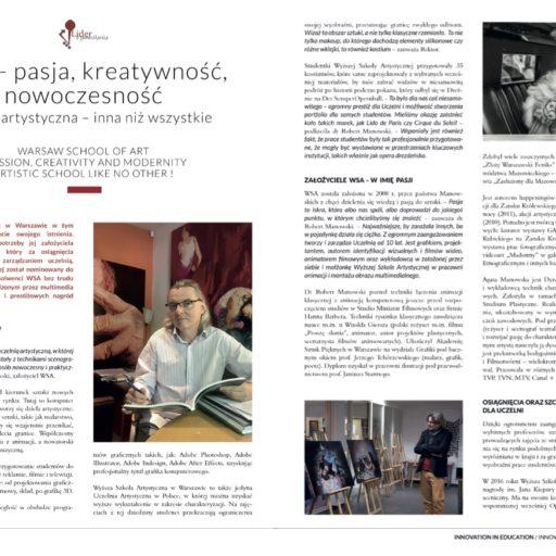 liderzpowolania, magazynwhystory, kreatywnosc, innowacja, charakteryzacja, grafika, artykul