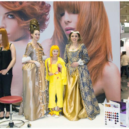 targi fryzjerskie, total look, pozań, kostium, charakteryzacja, wyższ szkoła artystyczna, fryzura, stulista, makeup, makijaż, epoka