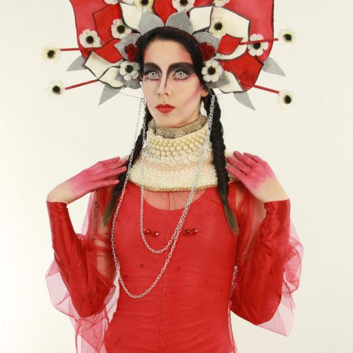 wyzsza szkola artystyczna, polska, kostium, charakteryzacja, makijaz, makeup, bodypainting