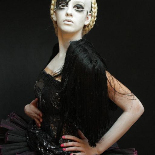 wyzsza szkola artystyczna, kostium, eko, charakteryzacja, makeup, makijaz