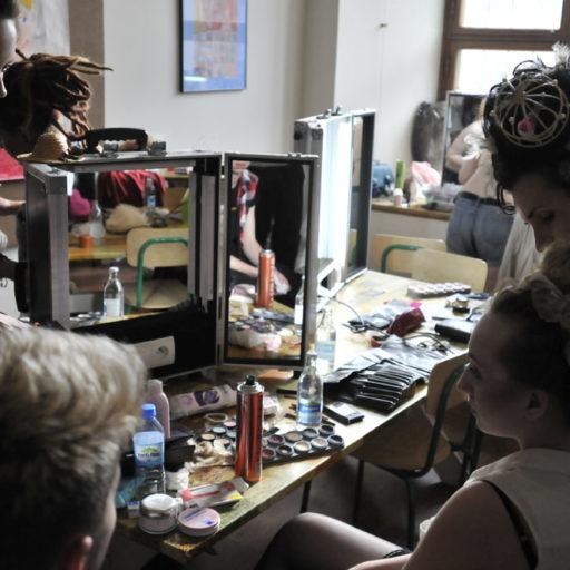 wyzsza szkola artystyczna, kostium, epoka, makijaz, makeup, epoka,