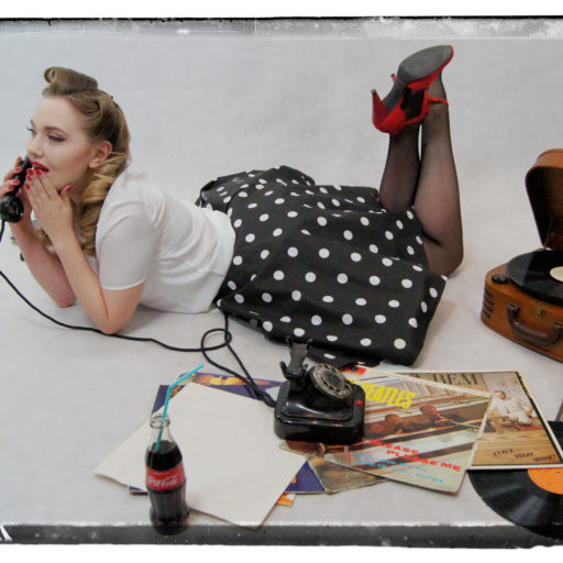 wyzsza szkola artystyczna, makijaz, makeup, kostium, lata50-te, epoka, styl, ikona