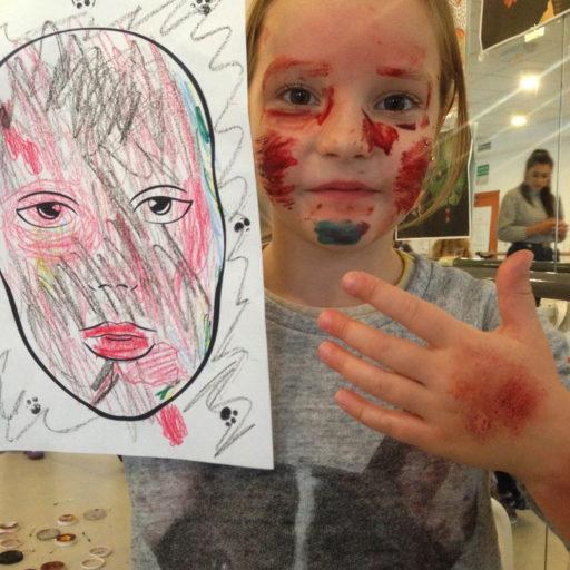 wyzsza szkola artystyczna, charakteryzacja, rana, fx, krew, warsztat
