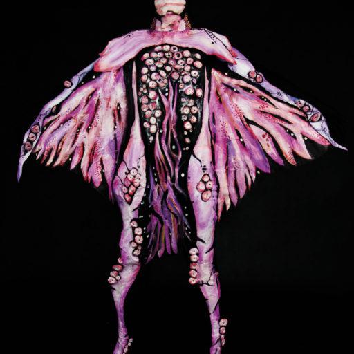 wyzszaszkolaartystyczna, kostium, charakteryzacja, inspiracja, ziarna, ziemia, sciencefiction