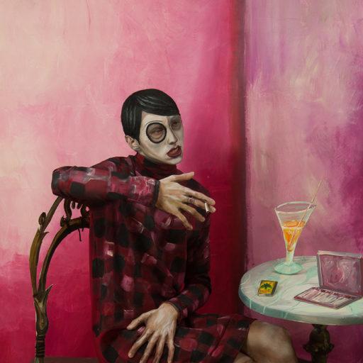 malarstwo, obraz, wyzszaszkolaartystyczna, charakteryzacja, bodypainting