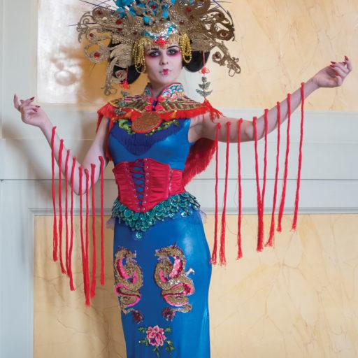 wyzszaszkolaartystyczna, pokaz, drezno, kostium, rekwizyt, makijaz, epoka, opera, bal, niemcy,