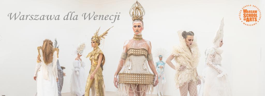 Baner Warszawa dla Wenecji