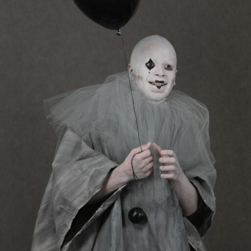 Halloween charakteryzacja z użyciem sfx
