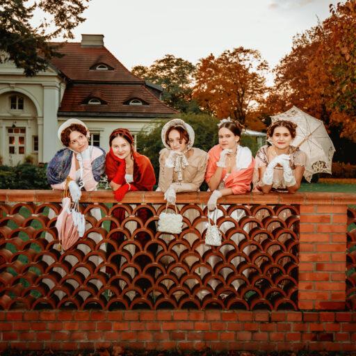 Sesja zdjęciowa w Wilanowie w stylu Empire